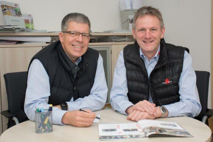 Holger Kruse, Marketingleiter und Berthold Koops, Vertriebsleiter