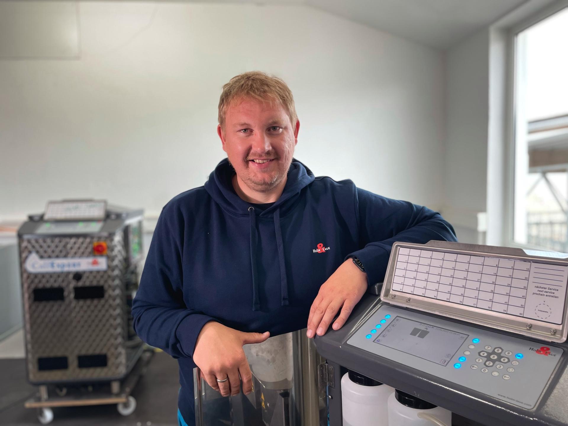Jens Böhrnsen, Leiter Service und Schulung